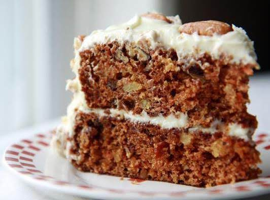 Granny 39 s carrot cake cream cheese frosting recipe just for Granny pottymouth bakes a vegan cake