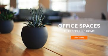 Office Spaces Like Home - Facebook Event Cover Template