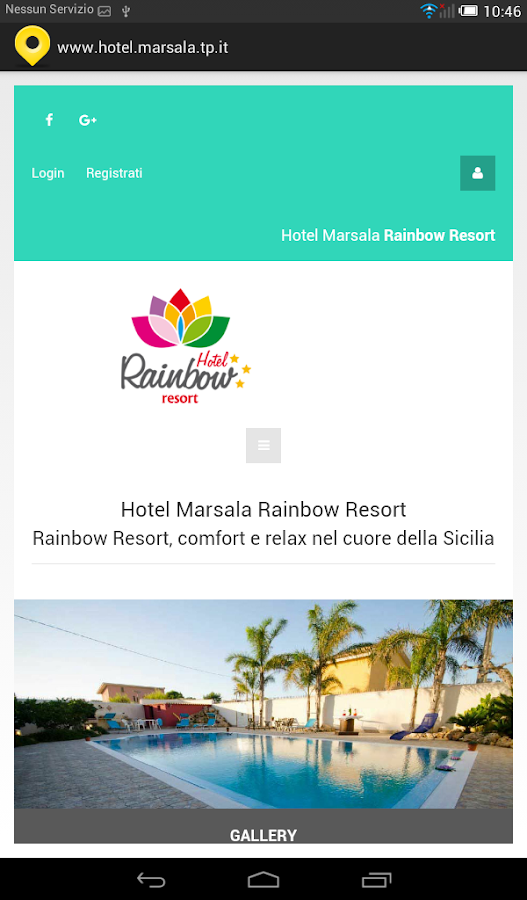 Hotel Marsala- screenshot