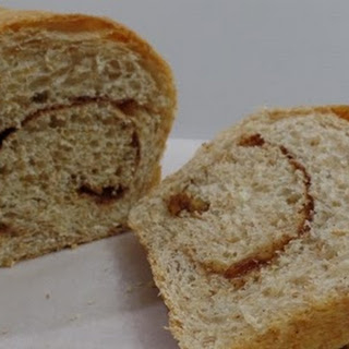 Honey Whole-Wheat Cinnamon Raisin Bread.