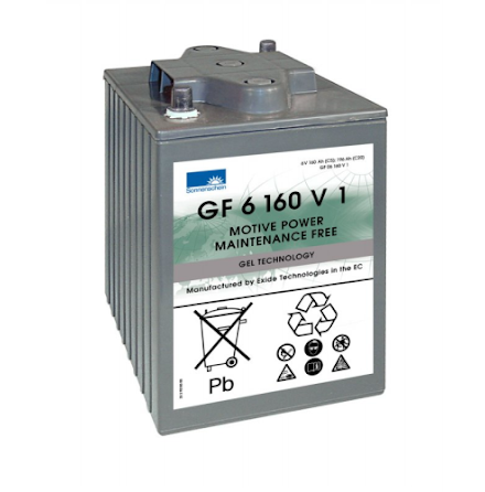Gelbatteri Sonnenschein 6V/160Ah