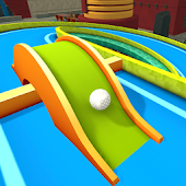 Minigolf 3D City Stars Arcade - Multiplayer Spel icon