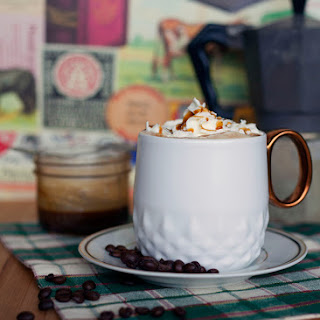 Starbucks Caramel Brulée Latte.