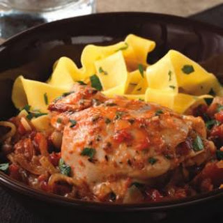 Wine & Tomato Braised Chicken