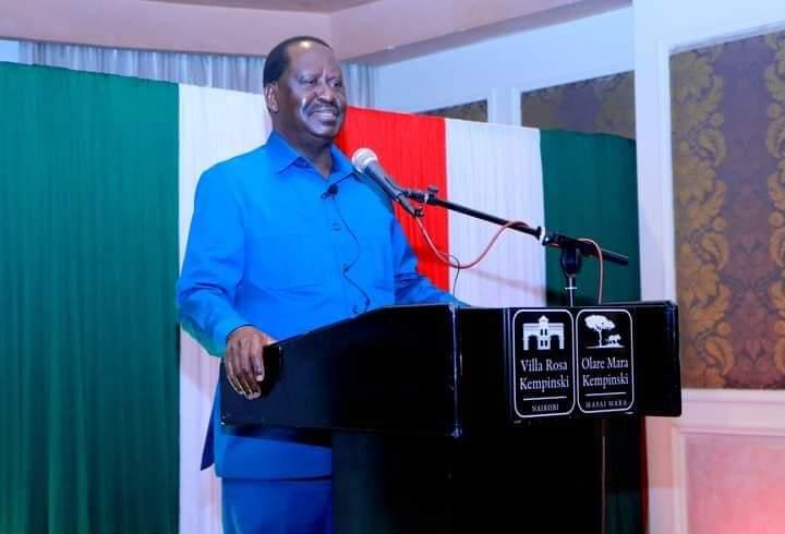 AU special envoy Raila Odinga.