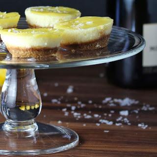 Mini Salted Lemon Cheesecakes