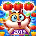 Farm Meow Match 2019 - Free Match3 Puzzle Game icon