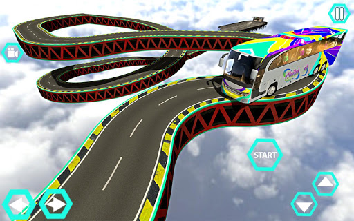 Impossible Bus Simulator Tracks Driving 1.7 screenshots 13