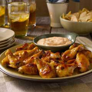 Hot & Sweet Chicken Wings.
