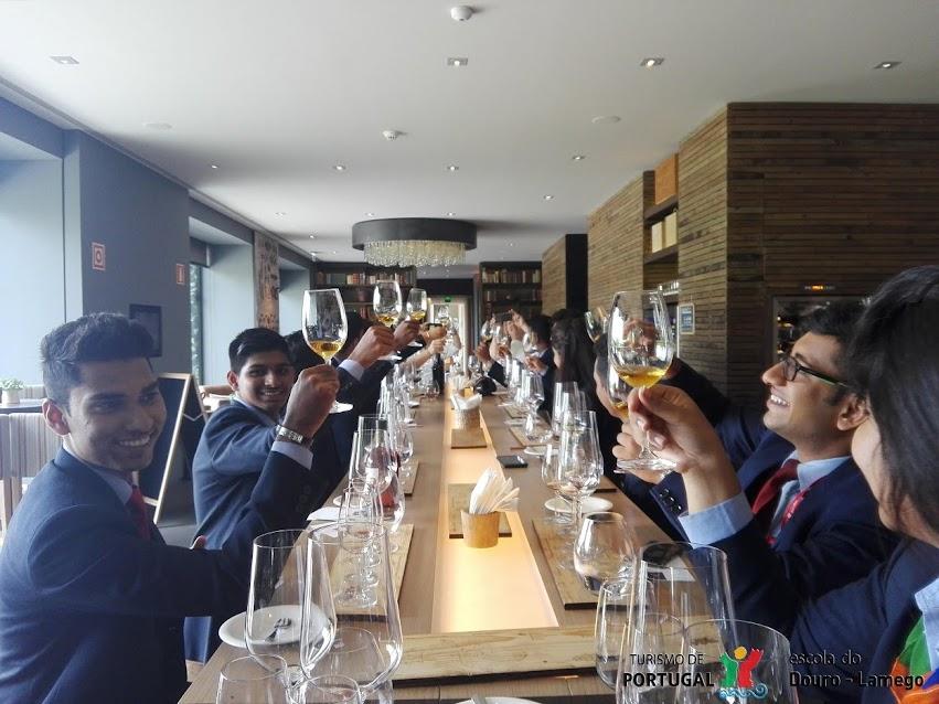 Escola de Hotelaria do Douro recebe estudantes de Goa