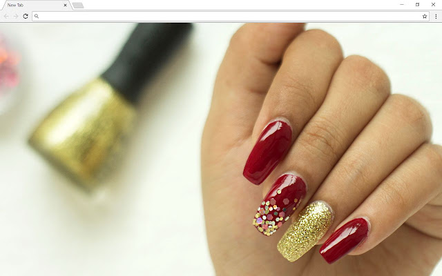 Nails Backgrounds & New Tab