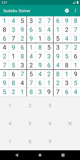 Sudoku Solver android2mod screenshots 2