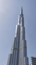 Photo: Der Burj Khalifa, beeindruckende 828 m hoch