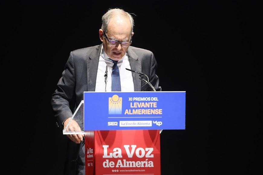 El Premio Levante 2020 de Innovación es para Metálicas Ávila. Lo ha recogido Francisco Ávila, fundador de la empresa.
