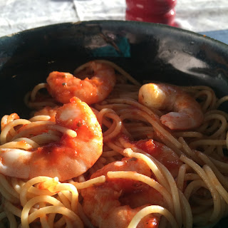 Pasta and Shrimp  Recipe
