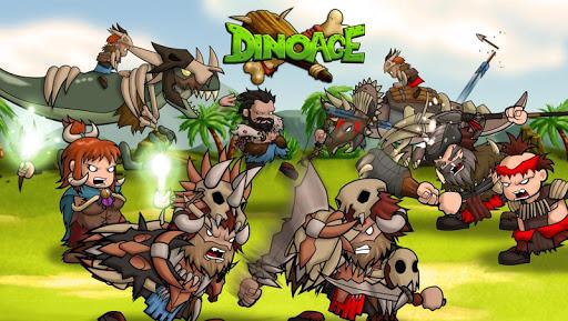 DinoAge: Stratégie de cro-magnons et dinosaures ! APK MOD – Pièces de Monnaie Illimitées (Astuce) screenshots hack proof 1
