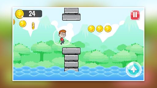 Télécharger Little Boy Run and Jump Adventure game APK MOD (Astuce) screenshots 5