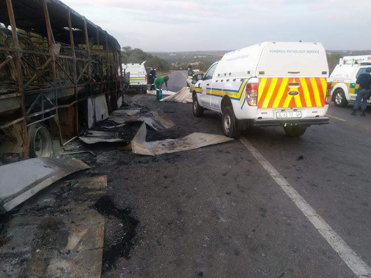 Tshwane metro police spokesperson Isaac Mahamba said six people were burnt beyond recognition