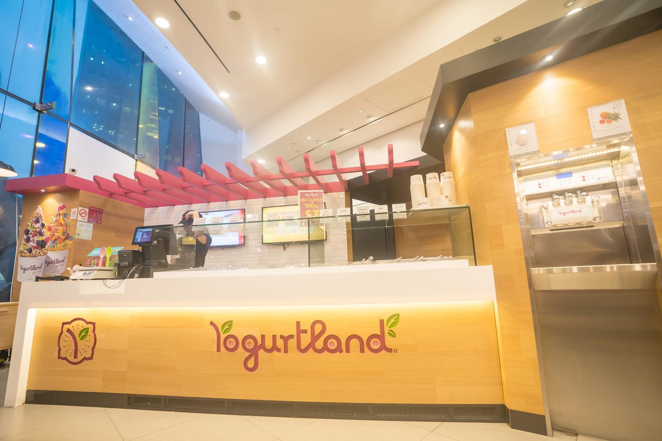 Singapore Yogurtland1