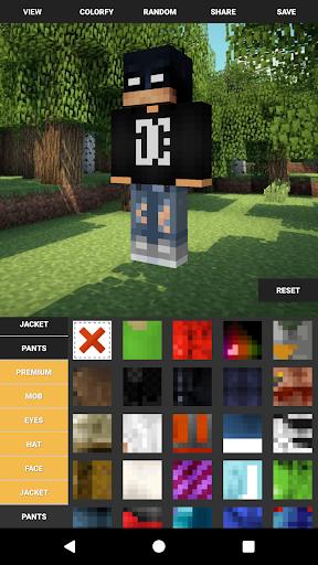 Custom Skin Creator For Minecraft  screenshots 2