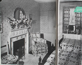 Photo: 1947 bedroom. There were lots of decorating choices, from traditional styles to ultra modern, some of which didn't really catch on till the 60's