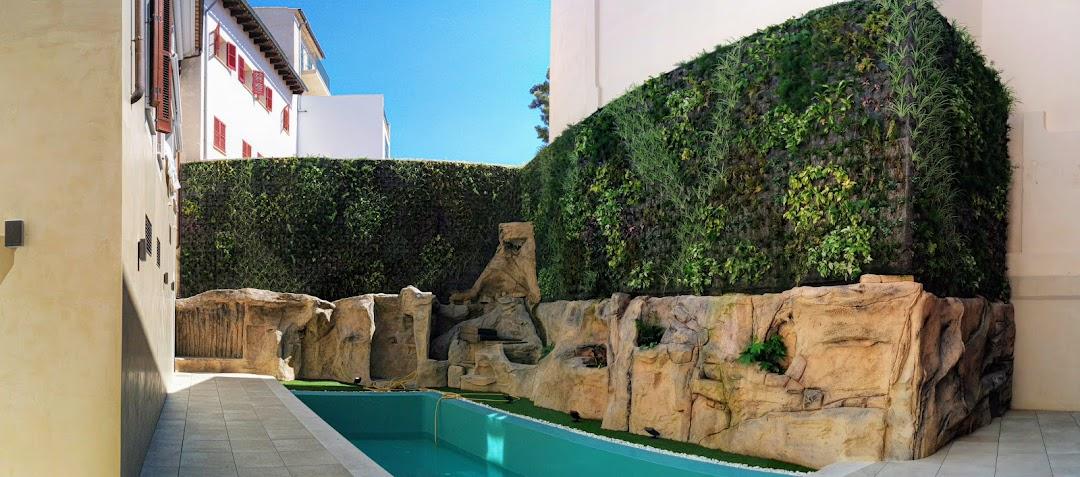 Jardines verticales en Baleares