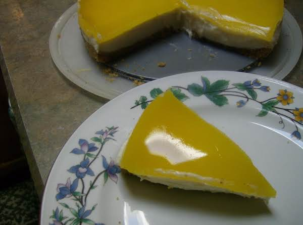 Favorite Lemon Glazed Cheesecake Recipe