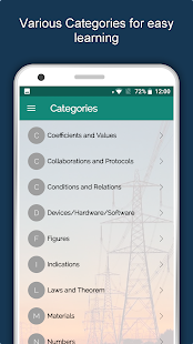 Electrical Engineering Dictionary - Offline Guide Screenshot