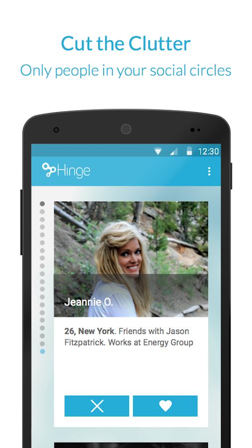 Hinge- screenshot