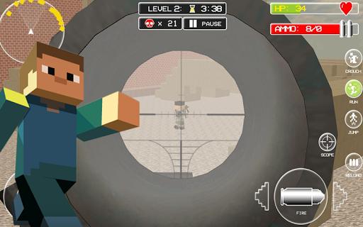 Diverse Block Survival Game screenshot 01