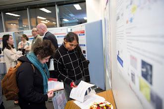 Photo: A/Prof Christof Hagemeyer and A/Prof Jody Haigh, ACBD, background