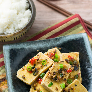 Spicy Fried Tofu.