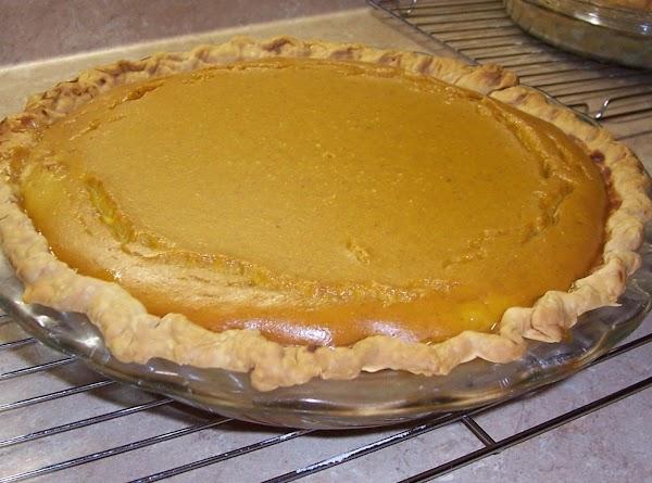 Squash Pie ~ Recipe