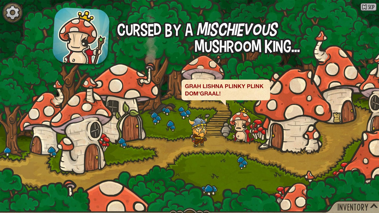 The Curse of the Mushroom King- screenshot