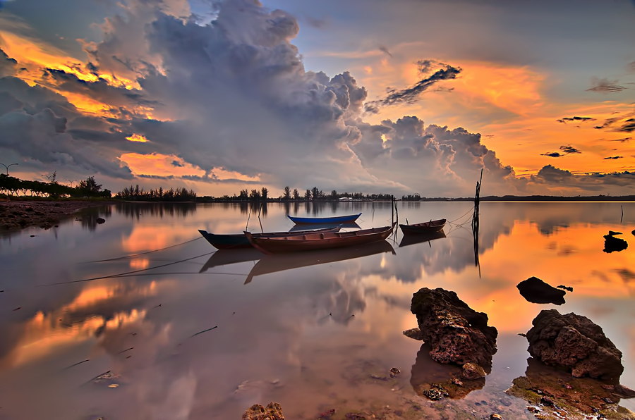 by Yayan Eterang - Landscapes Sunsets & Sunrises