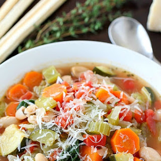 Healthy Tuscan Vegetable Soup Recipe