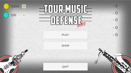 TourMusicDefense Hero 1.0 screenshots 1