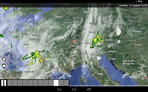 Weather Switzerland XL PRO screenshot 11