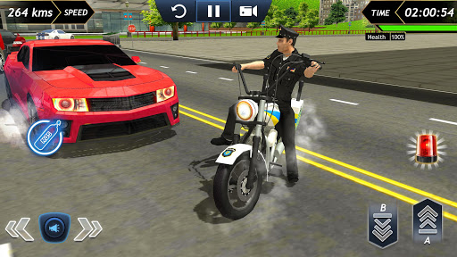 Police Bike Racing Free 1.6 Cheat screenshots 2