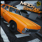 Mad Taxi Simulator Racing 2018