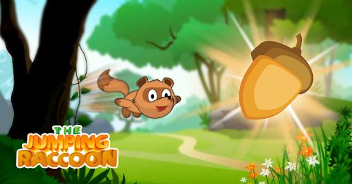 The Jumping Raccoon
