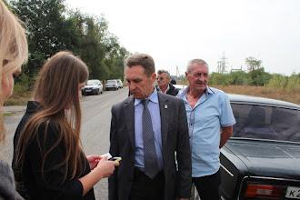 Photo: Нас встречают в Кочубеевском районе