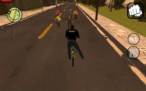 Vice gang bike vs grand zombie in Sun Andreas city 1.0 screenshots 11