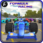 ?Fast Formula Car Racing 3D? Icon