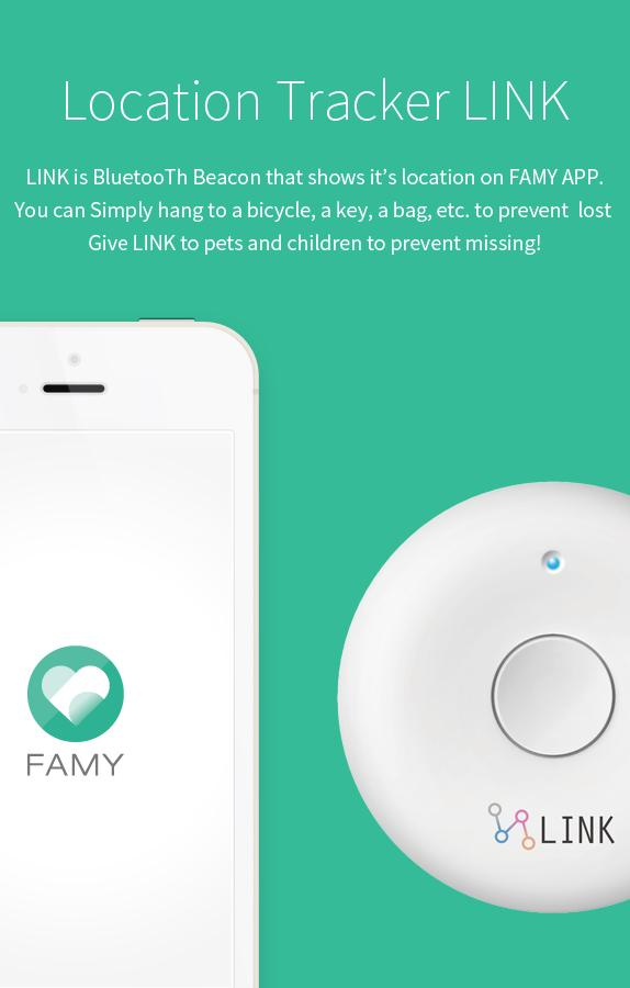 FAMY - family chat & location- screenshot