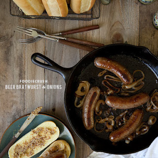 Beer Bratwurst and Onions Recipe