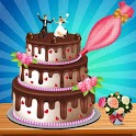 Chocolate Wedding Cake Factory: Fun Cooking Game icon