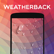 Weatherback: Weather Live Wallpaper