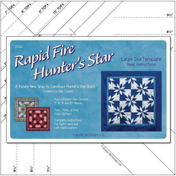 Linjal Studio 180 Rapid Fire Hunter's Star-Large (12025)