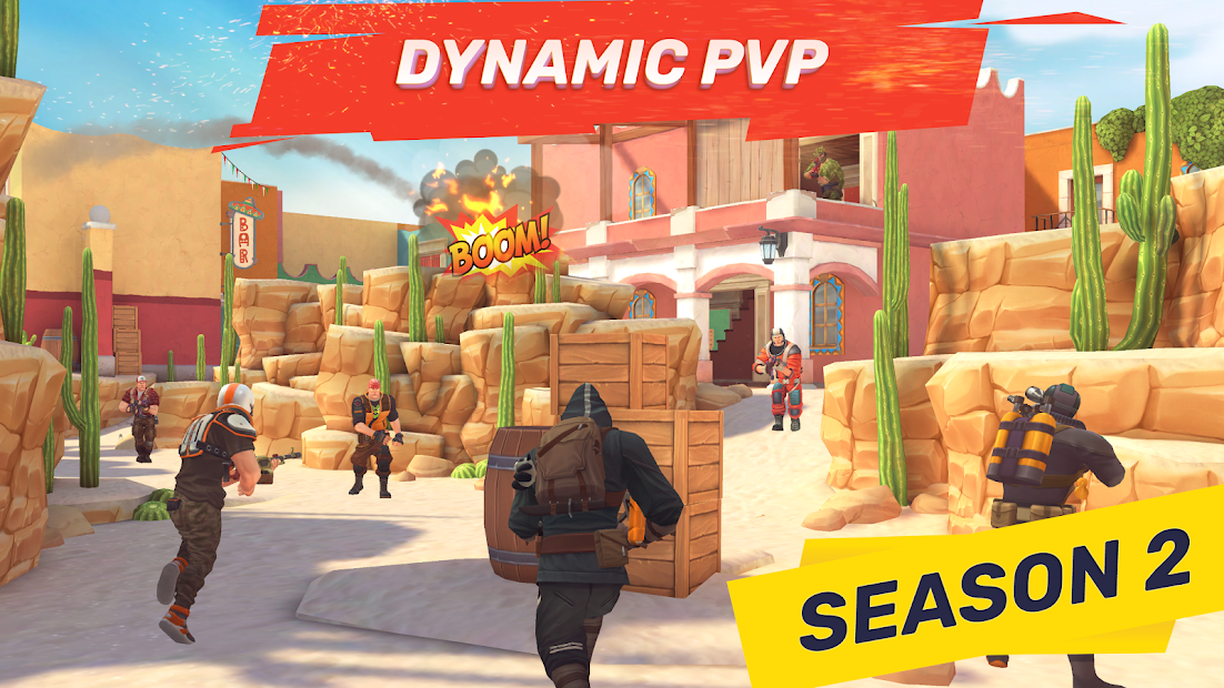 Guns of Boom - Online PvP Action Android App Screenshot